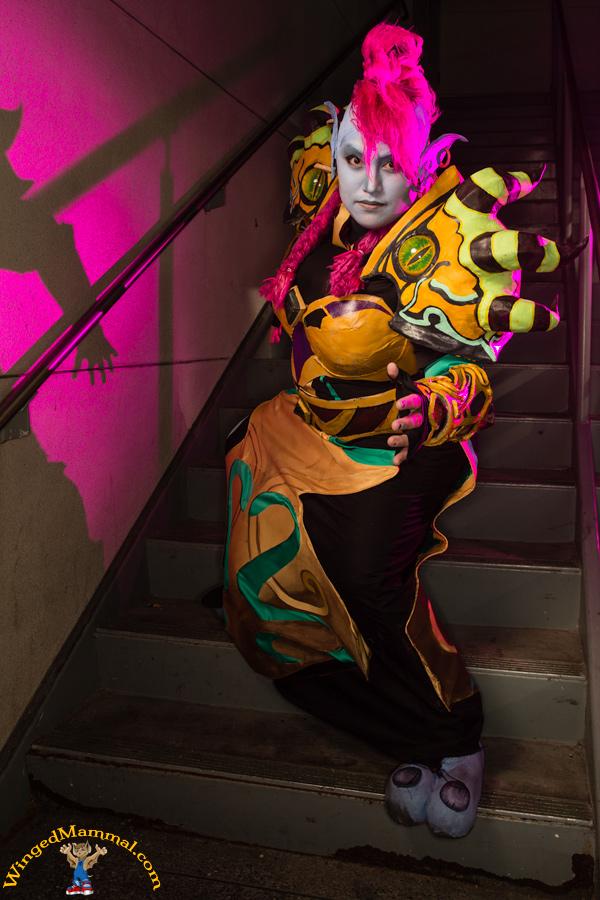 World of Warcraft: Troll Warlock by Phantom-Shadow