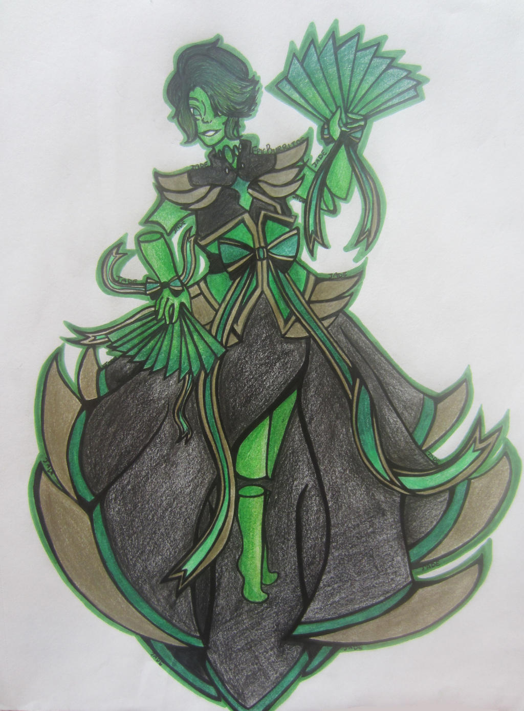 Jade/Jadeite/Nephrite Gemsona By EpicBurritos On DeviantArt