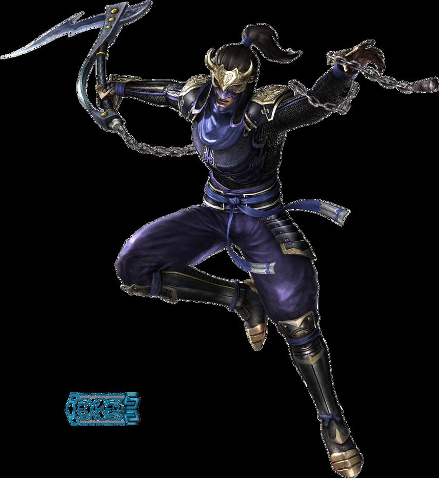 Render SWarrior 3 Hanzo by MasterEdward