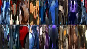 Transformers Prime Aft Collection by TheMassEffectFanatic