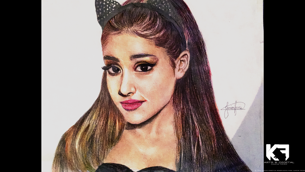 Ariana grande by tkunds