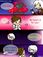 DMC4 - Valentine's day by rorochimaru