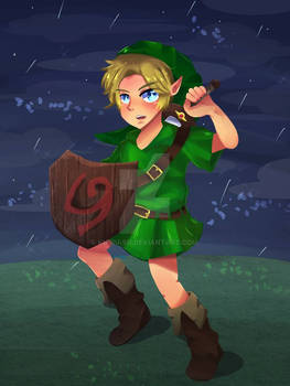 LoZ- Boy Without A Fairy