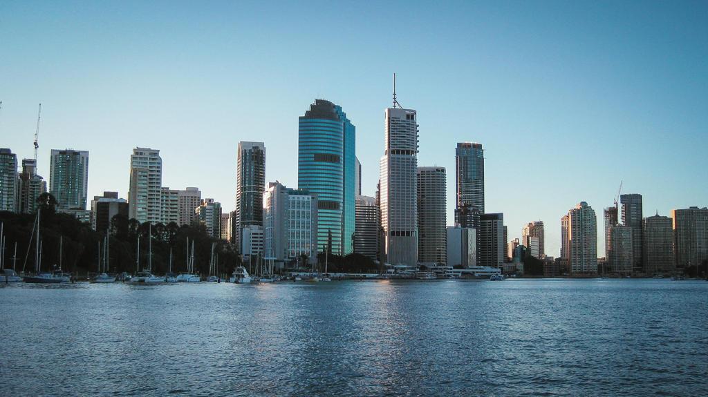 Brisbane CBD by OMOLIO