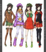 Fashion Illustrations by Ethlenrain