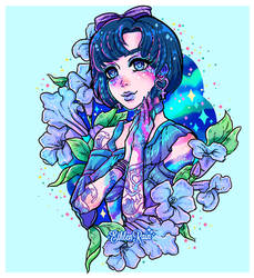 Sailor Mercury by Ethlenrain