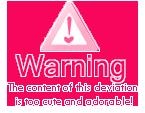 warning pink icon