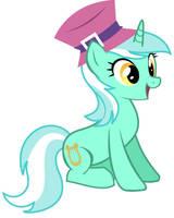 Lyra always dresses in style by DawnMistPony
