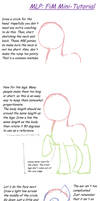 How to draw MLP: FiM by DawnMistPony