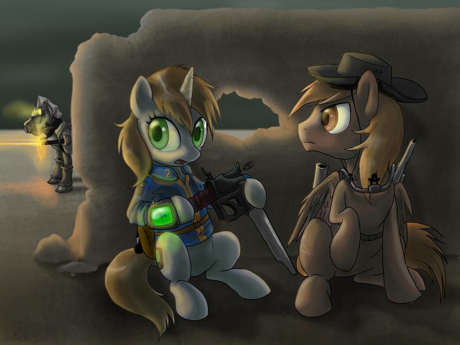 Equestrian Battlefront by DawnMistPony