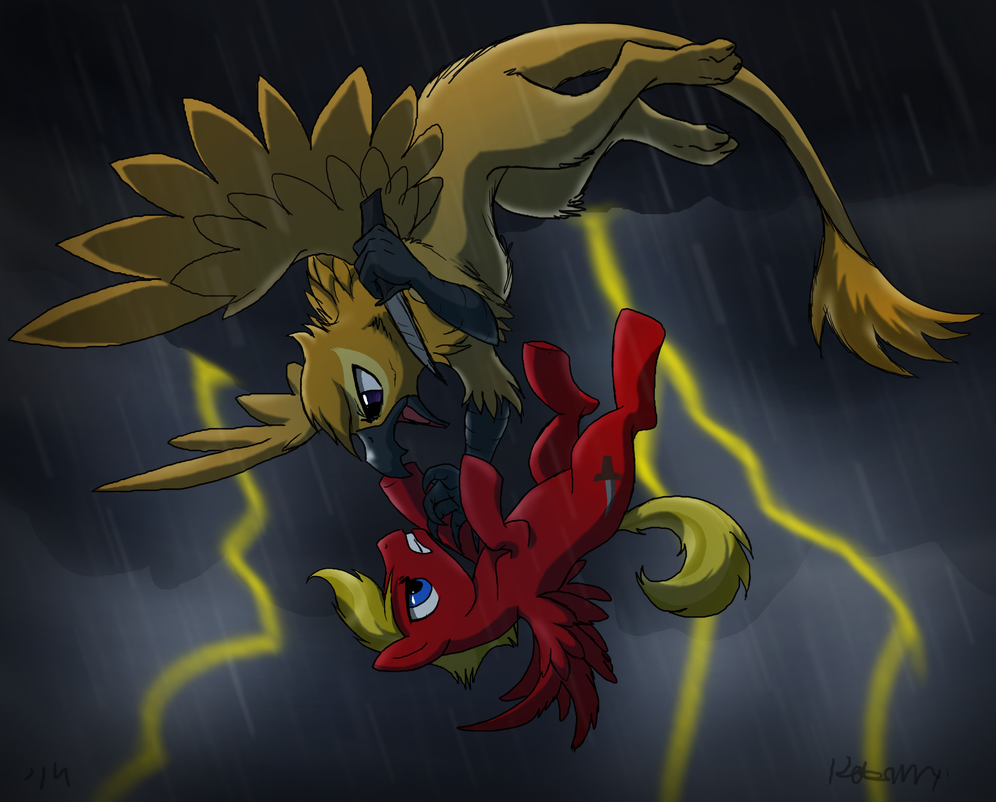 A Stormy Night by DawnMistPony