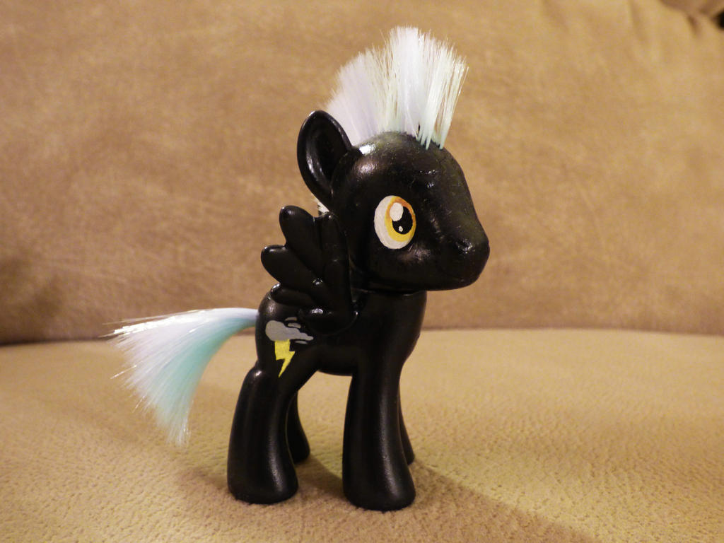 Thunderlane Custom Figure (sold) by DawnMistPony