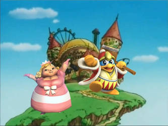 King Dedede vs Fat Princess