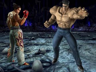 Kazuya Mishmia vs Toguro