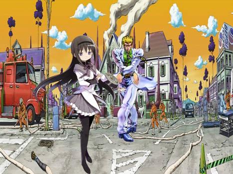 Homura Akemi vs Yoshikage Kira