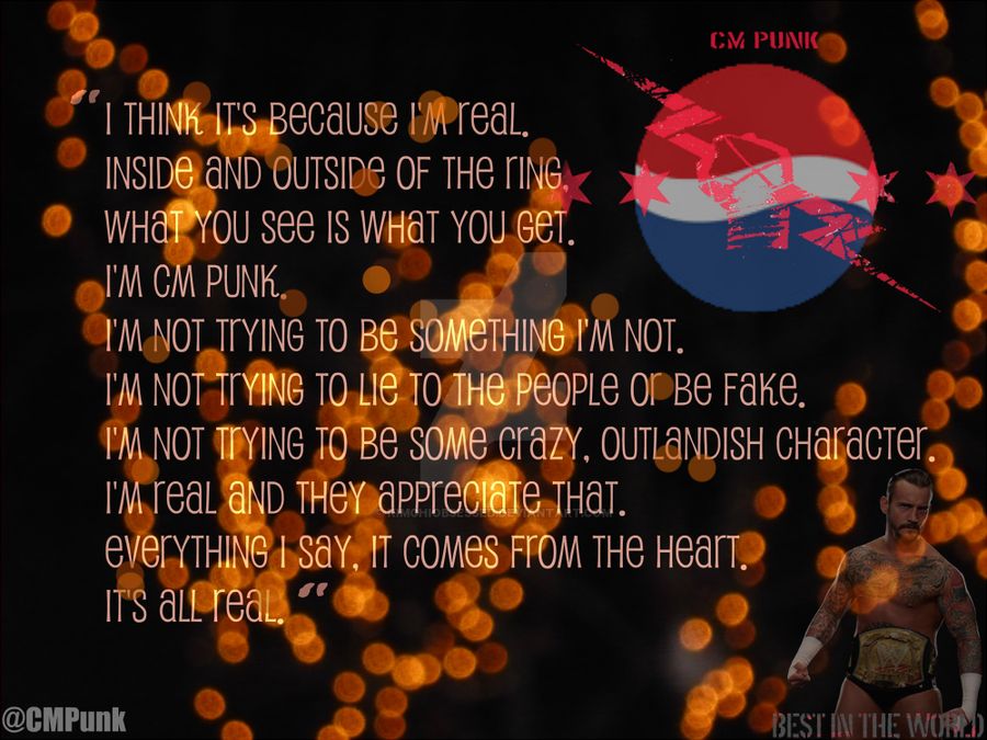 Cm punk quote by kimchiobsessed on deviantart cm punk quote by kimchiobsessed voltagebd Images