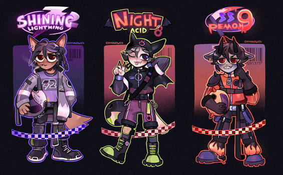 (closed) adopt auction (cats racers)