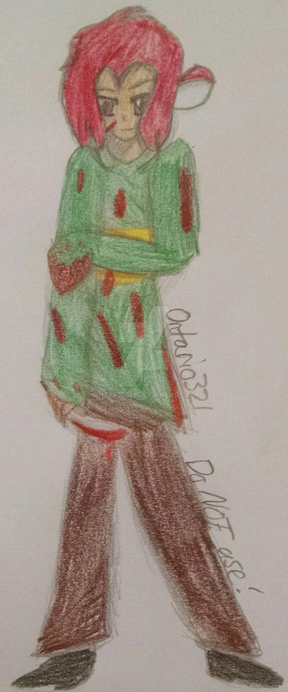 Luciano dressed as Chara by Ontario321