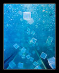 Blue Cubes by madsigntist