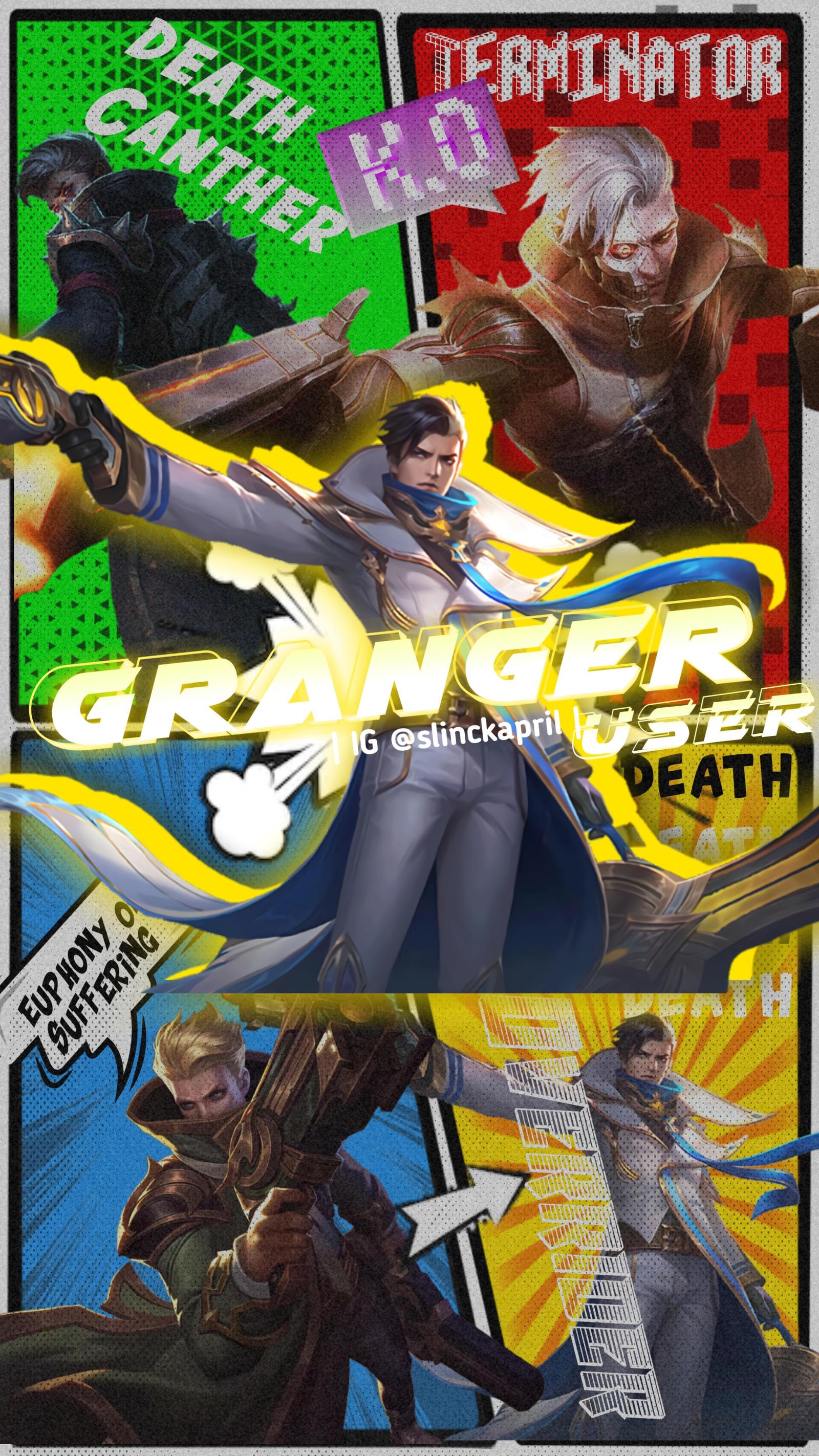 Granger Mobile Legends Wallpaper Lightborn Hd By Slinckapril On Deviantart