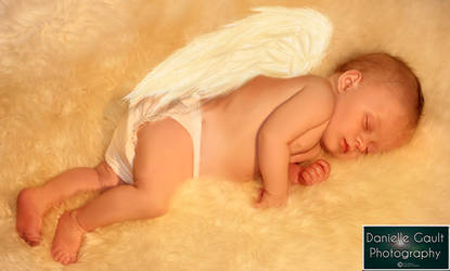 Even an angel needs sleep :)
