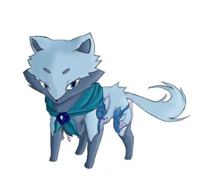 Blue Fox by kusakaice