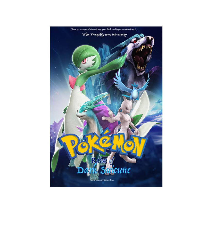 Fanmade Pokemon (poster design) by kusakaice