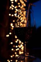 Bokeh Wine Glass by croicroga