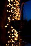 Bokeh Wine Glass