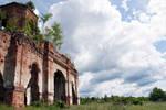 Ruins of a church stock #3