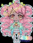 (OPEN) Auction: Mint candy cane