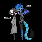 Ren and Drake by xHiroshi