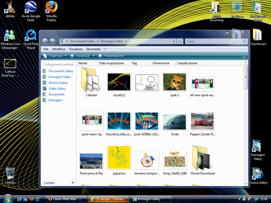 Searchbar of Windows Vista ITA by Jacopo93