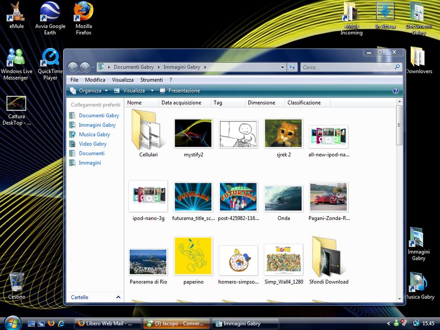 Searchbar of Windows Vista ITA by Jacopo93