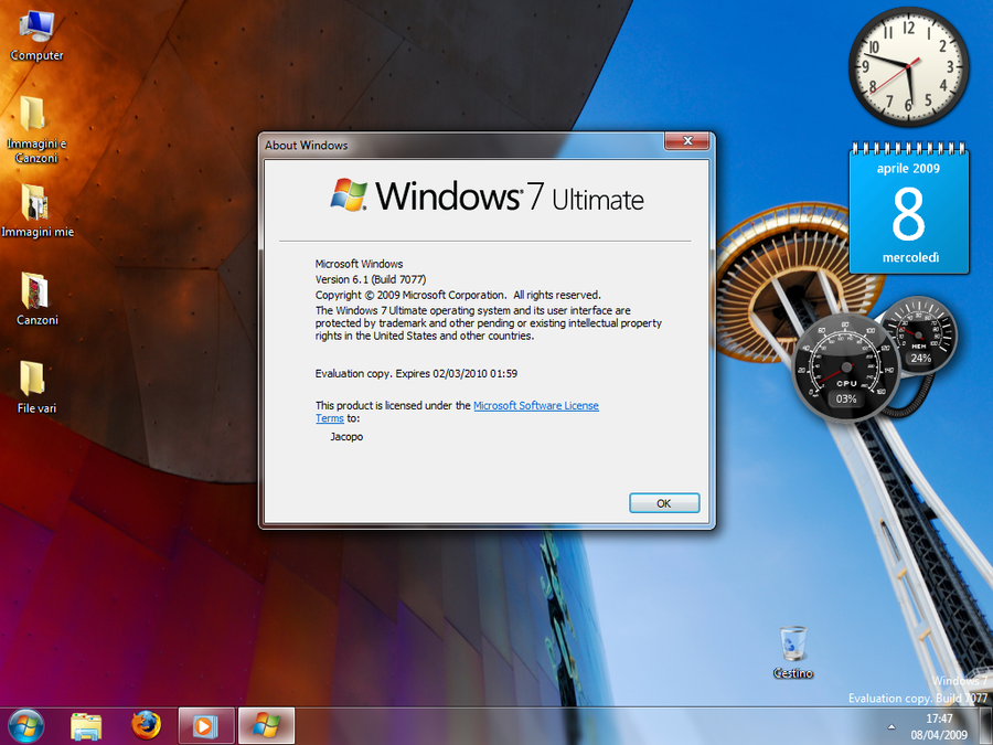 Windows 7 build 7100 key generator