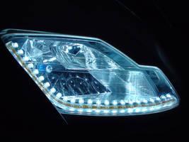 My White LED in my Aprilia SR2 by Jacopo93