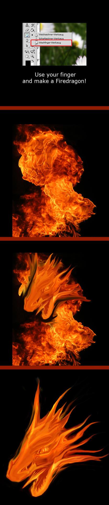 make a dragon by Bioencoder