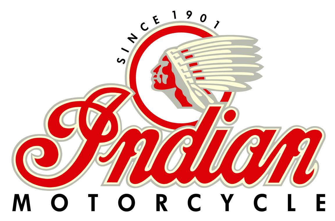 vintage indian motorcycle logo