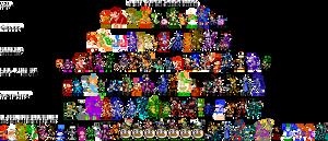 8bit Super Smash Bros Sprite by Totototo