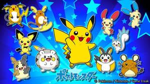 Electric Rodent Pika Clone Pokemon