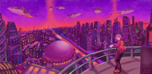 Spaceport Alpha by OneLastSketch