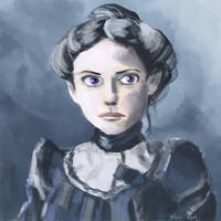 Study - Colourizing a Victorian photograph by OneLastSketch
