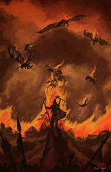 The Madness of Solomon Kane by OneLastSketch