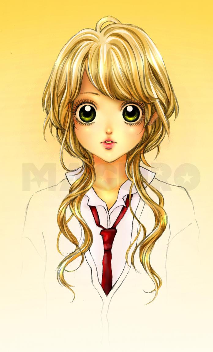 Manga Girl by Maguro88