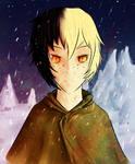 Snowy Twilight by ThatKiku