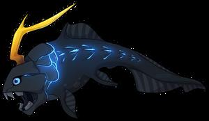 Glowy Fish by kr1st1naa