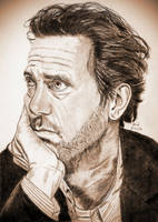 Hugh Laurie by X-Enlee-X
