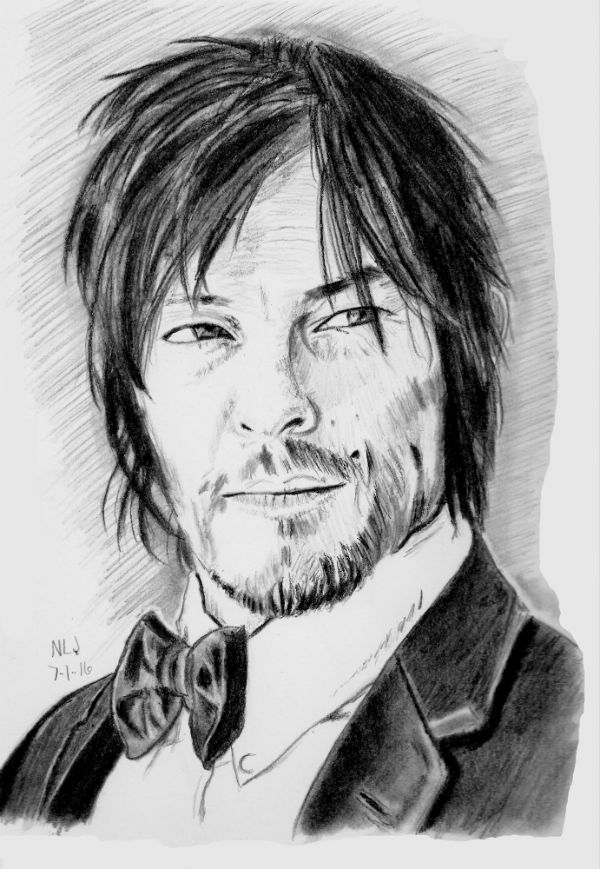 Norman Reedus 3 by X-Enlee-X