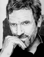 Hugh Laurie 2 by X-Enlee-X
