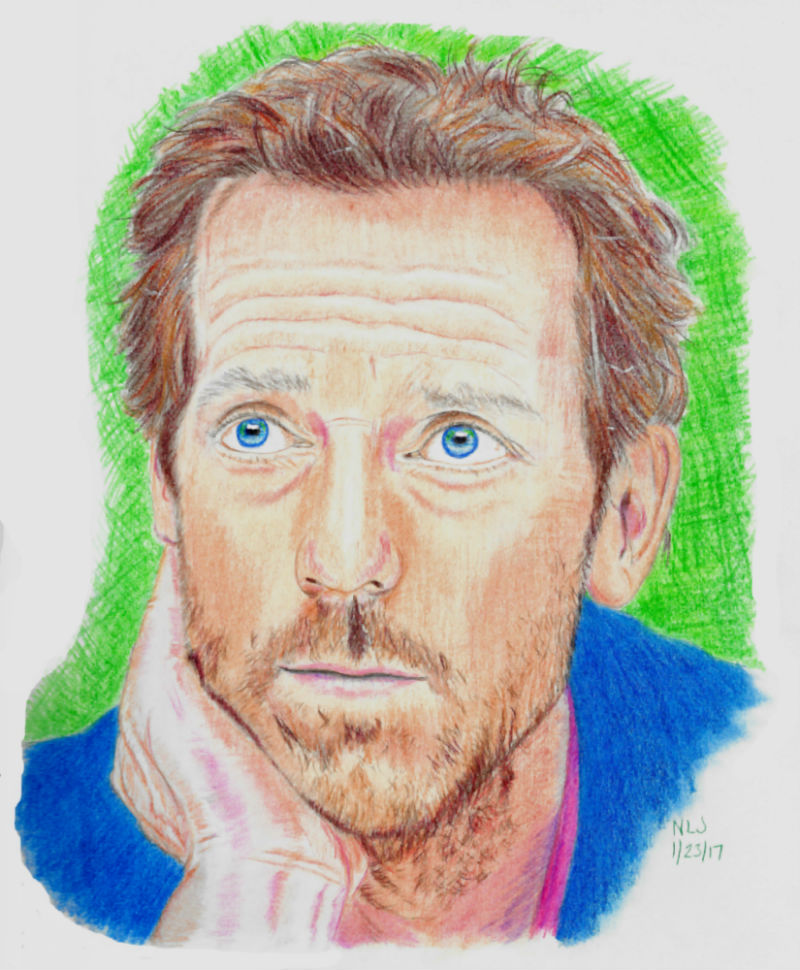 Hugh Laurie in Color by X-Enlee-X